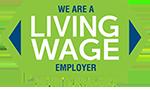 living wage logo
